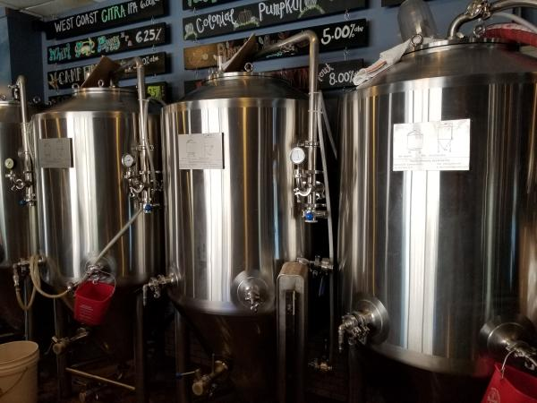 more brewing equipment